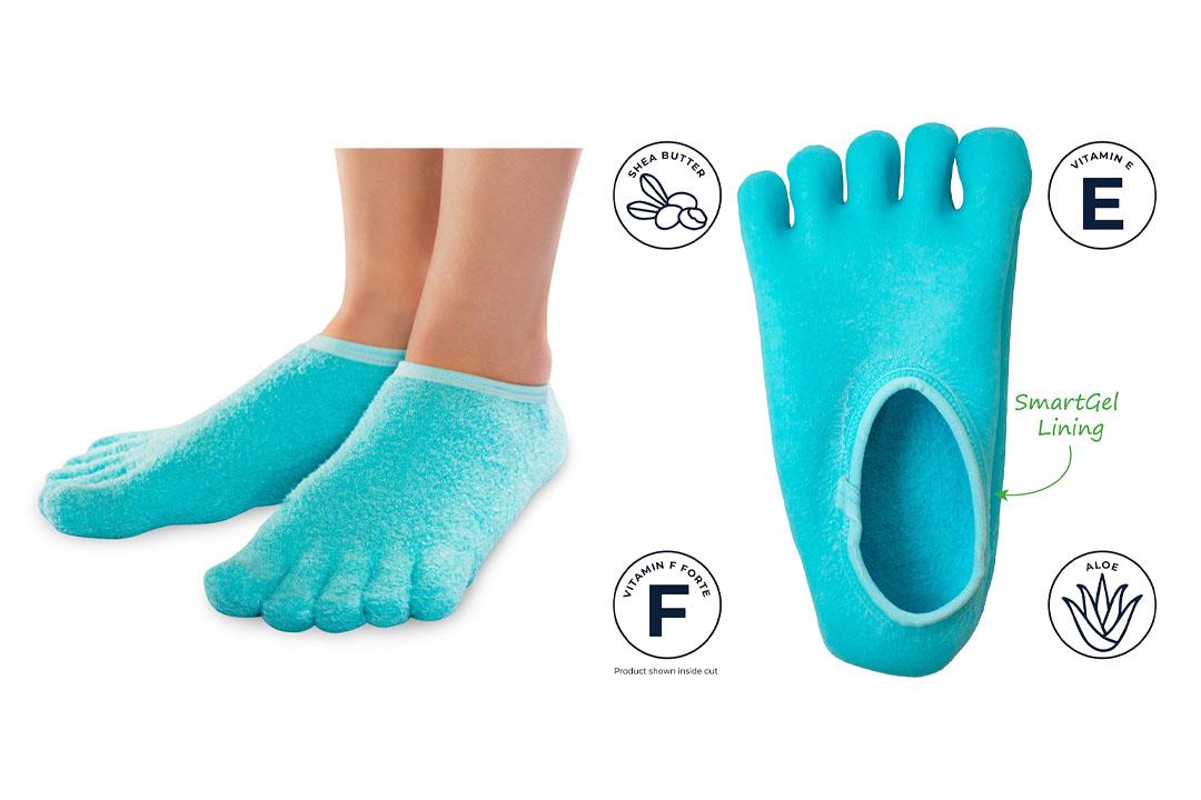atraCure Toe Moisturizing Gel Socks
