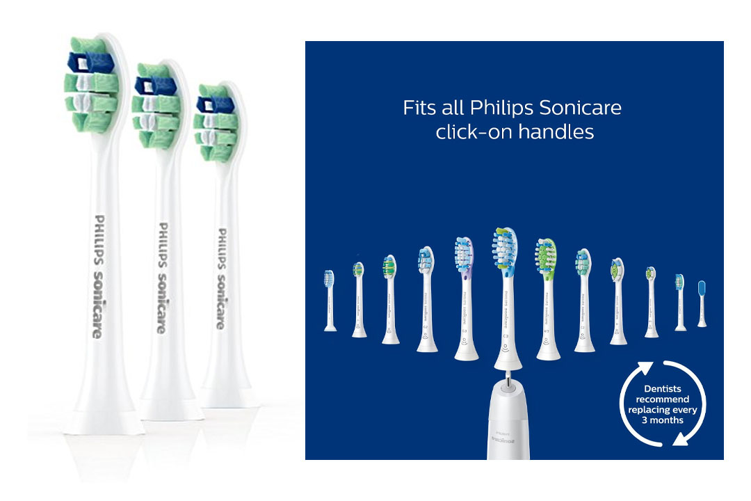 Philips Sonicare Pro Results Plaque Control Toothbrush Heads