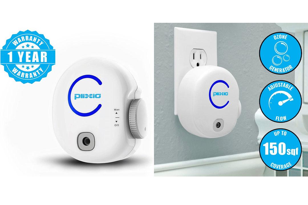 Plixio Portable Plug-In Ionic Air Purifier