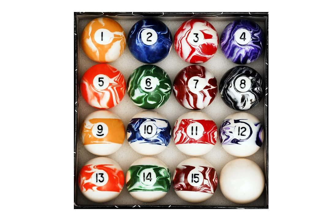 Pool Table Billiard Ball Set