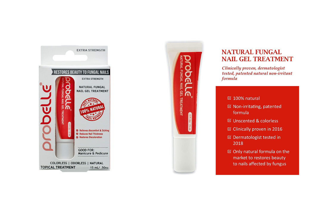 "Probelle""Extra Strength"" Natural Fungal Nail Gel Topical Treatment"