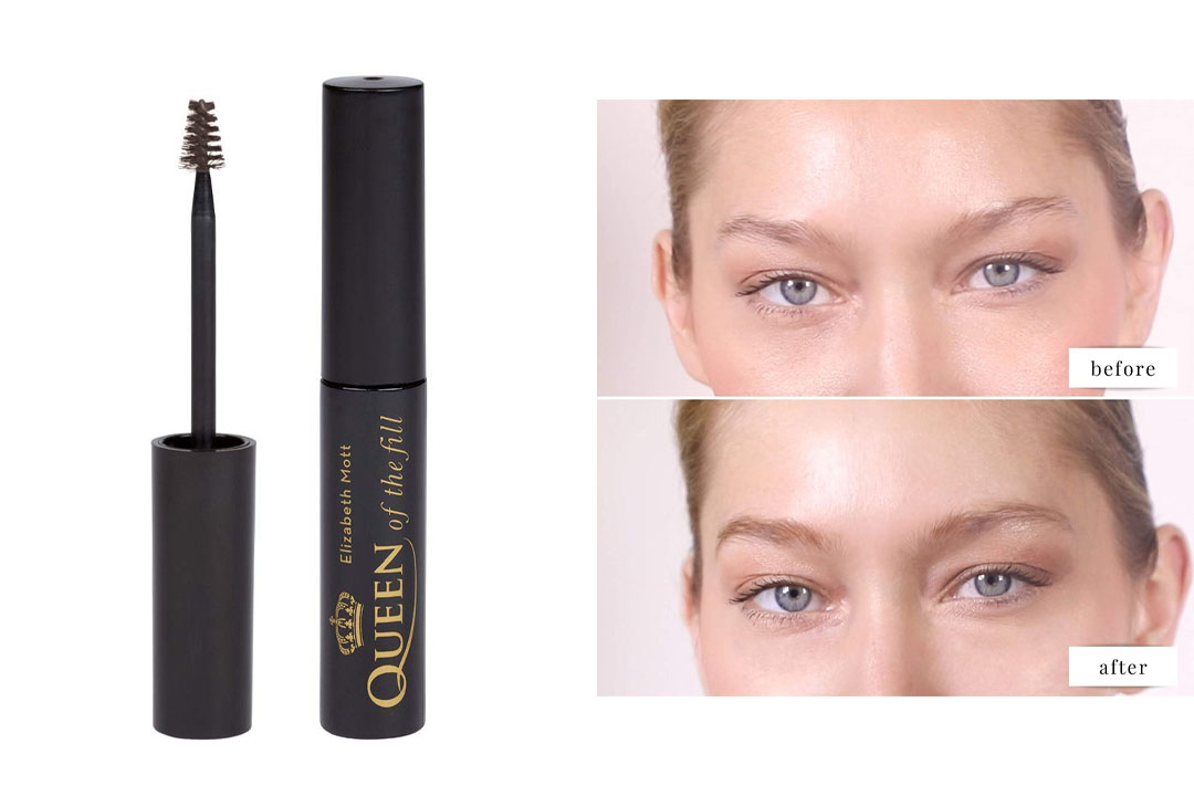 Queen of the Fill Tinted Eyebrow Makeup Gel Cruelty Free
