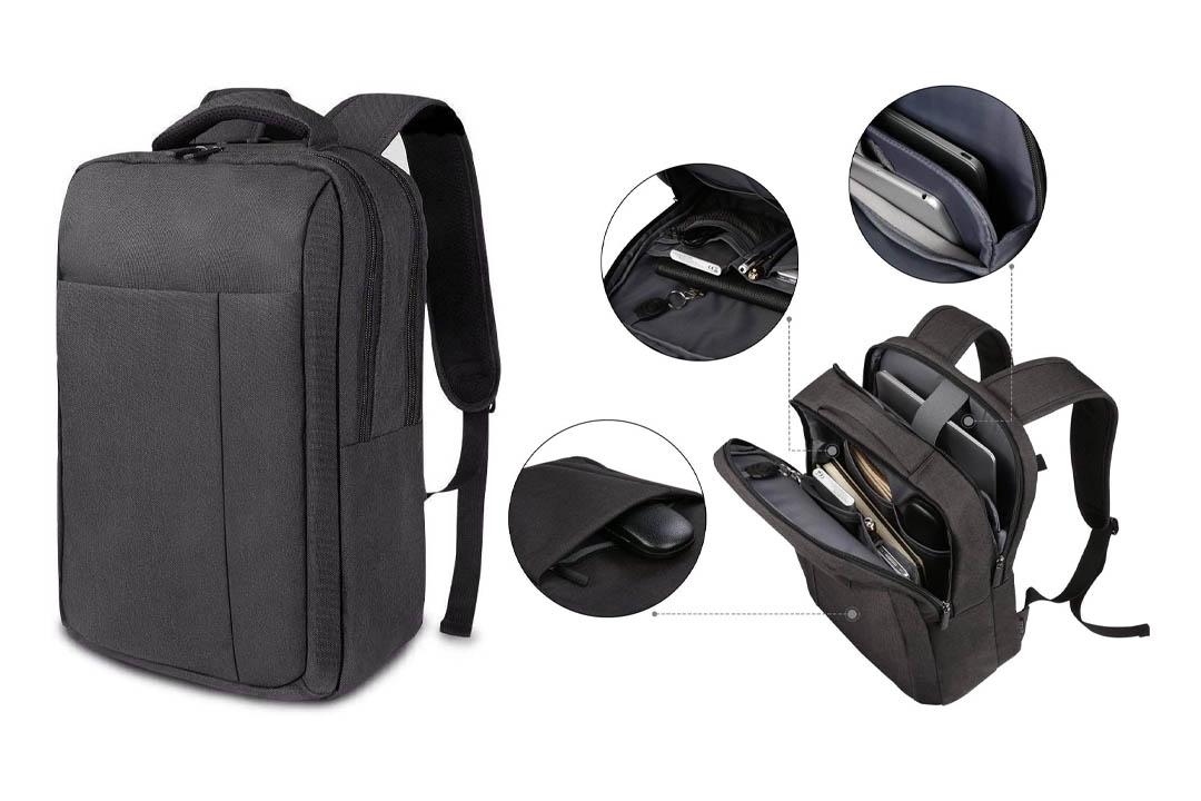 REYLEO Backpack Slim Laptop Backpack
