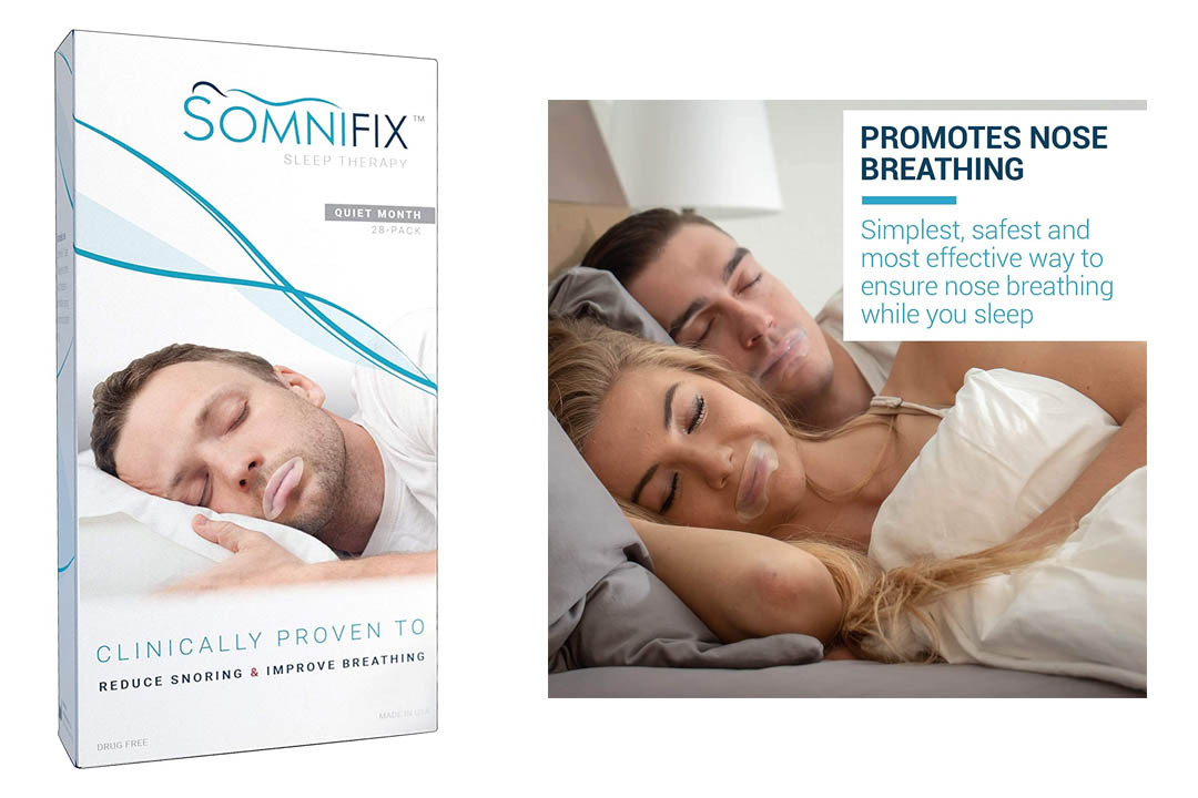 Sleep Strips by SomniFix - Advanced Gentle Mouth Tape