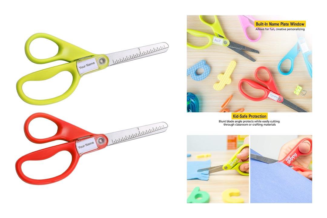 Stanley Guppy 5-Inch Blunt Tip Kids Scissors