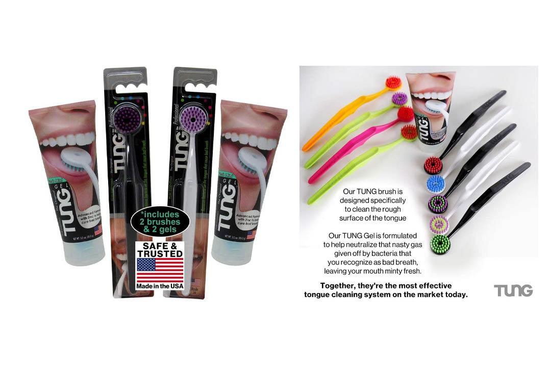TUNG Brush & Gel - Tongue Cleaner