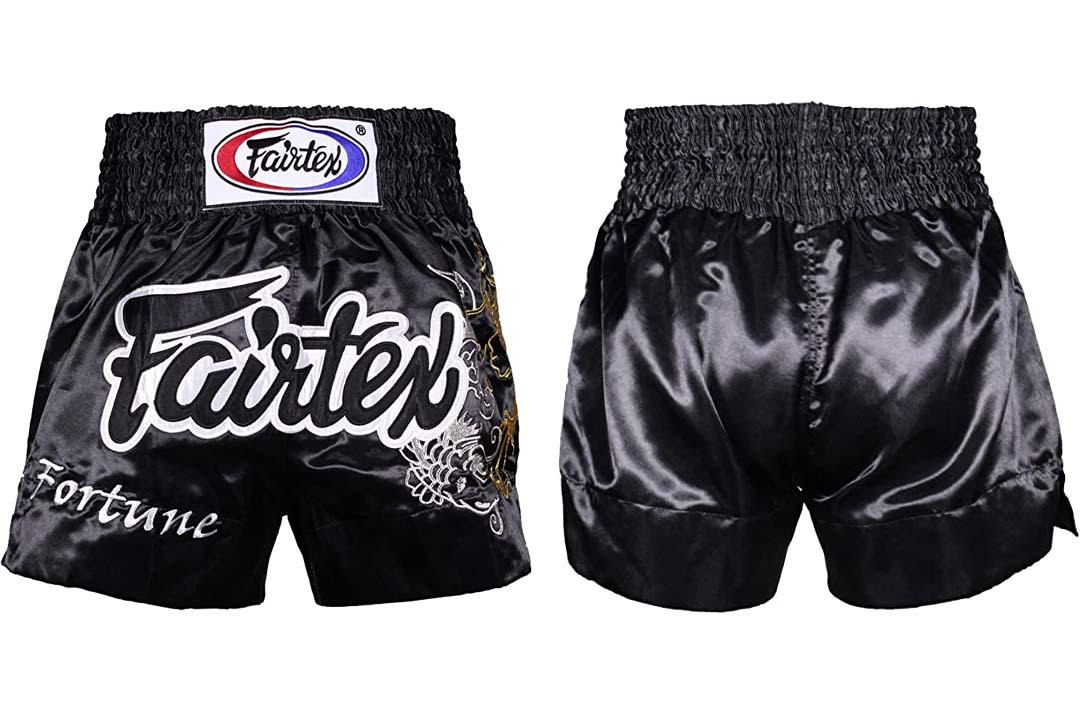 Thai Boxing Shorts Red Black White