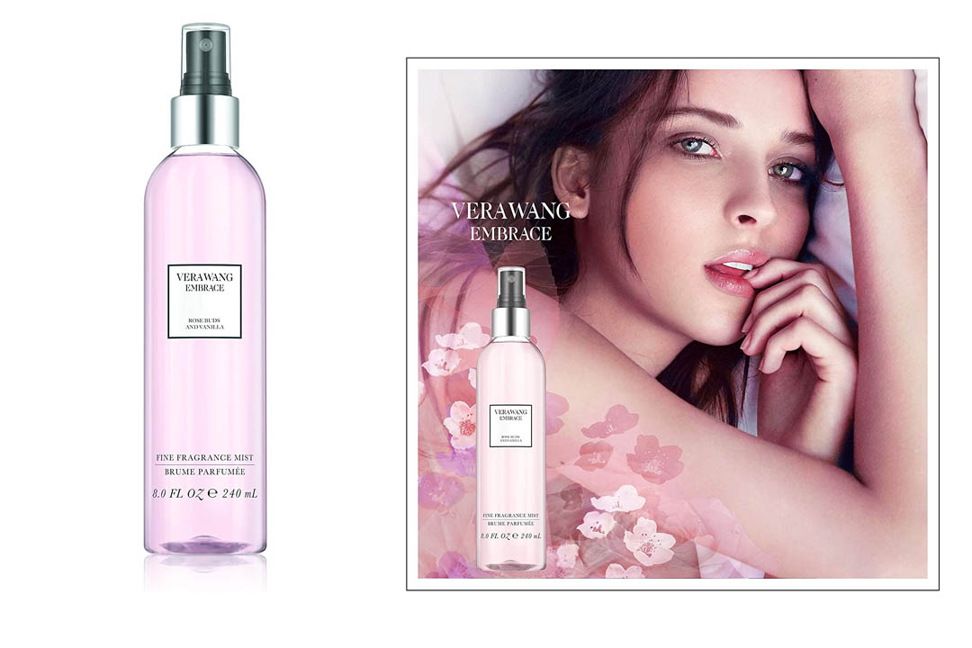 Vera Wang Embrace Body Mist for Women Rose Buds and Vanilla Scent