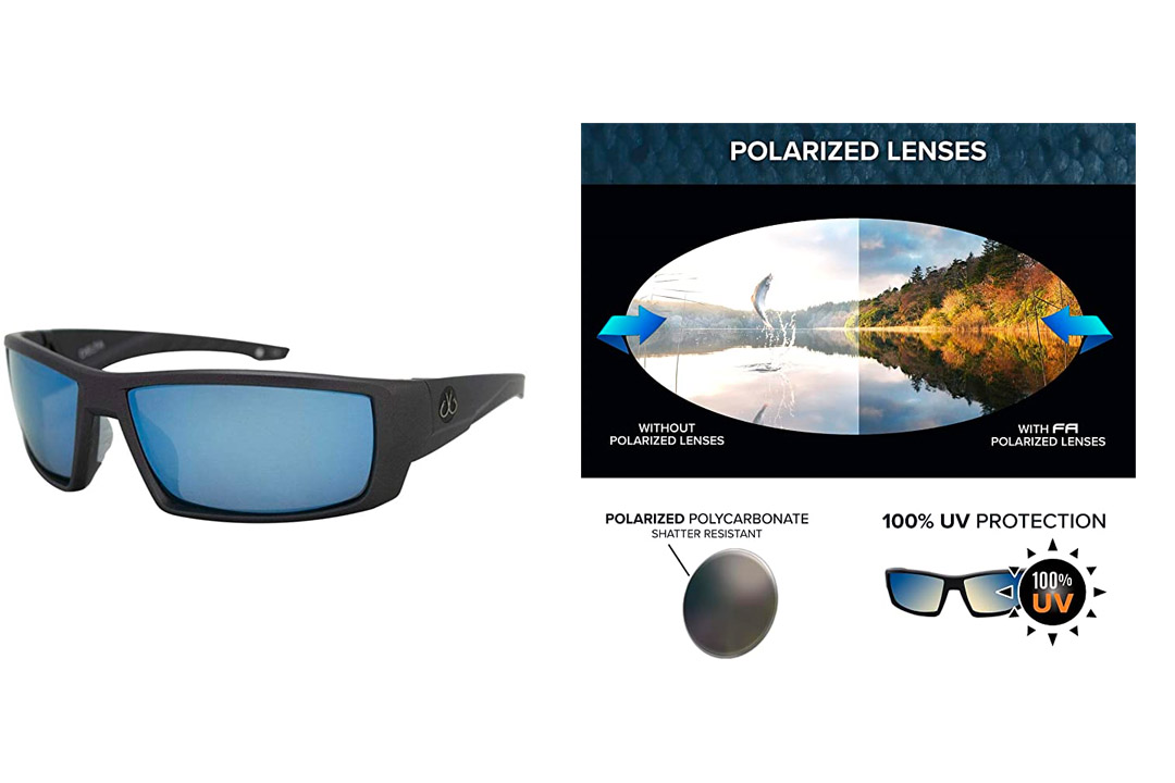 Filthy Anglers Delta Polycarbonate polarized sunglasses