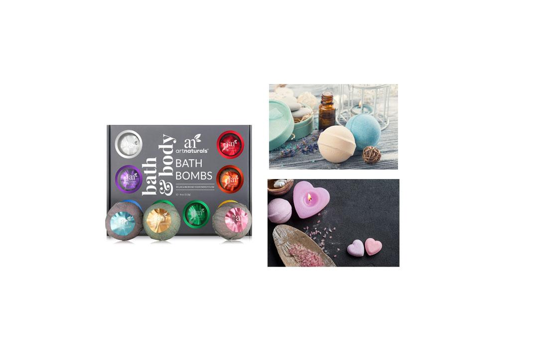 ArtNaturals Bath Bomb Gift Set