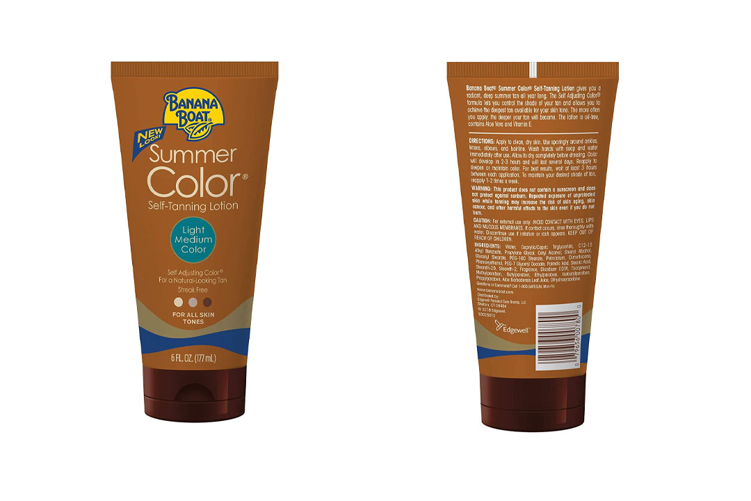 Banana Boat Self-Tanning Lotion
