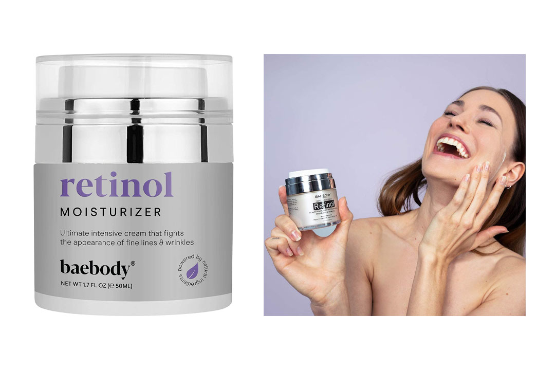 Basebody Retinol Moisturizer Cream for Face and Eye Areas