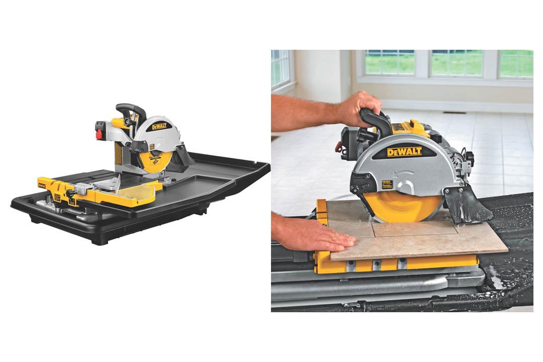 DEWALT D24000 1.5-Horsepower Wet Tile Saw
