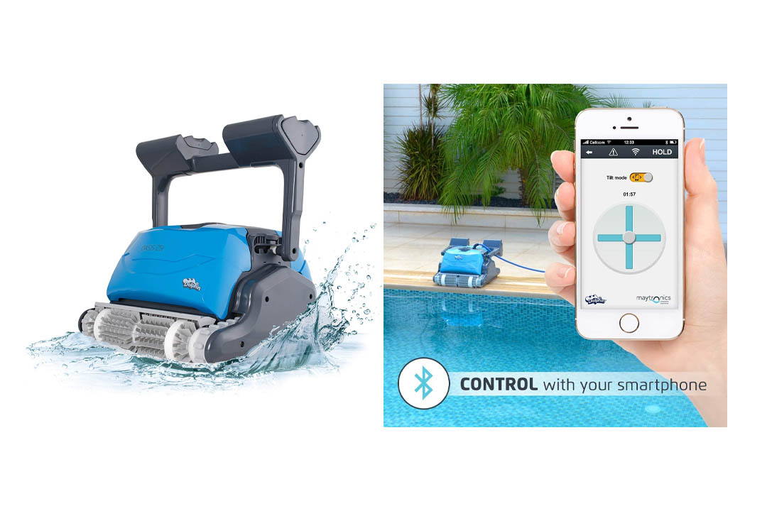 Dolphin Oasis Z5i Robotic Pool Cleaner by Maytronics