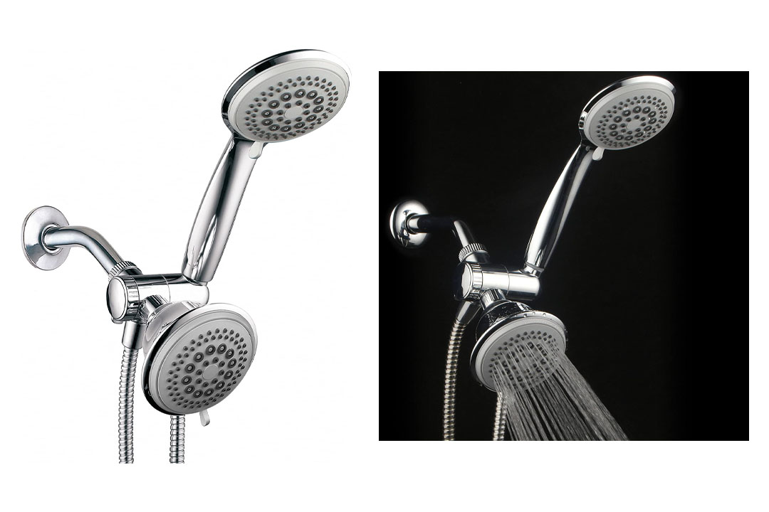 DreamSpa 36-setting 3-way Shower Head