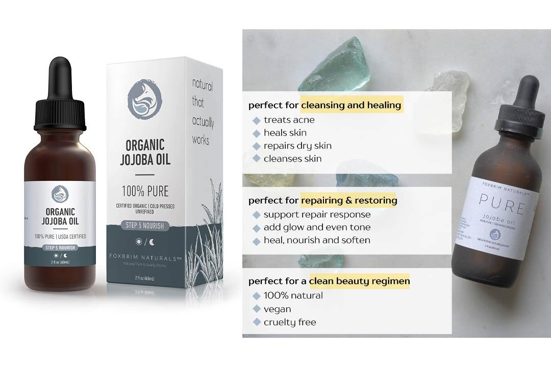 Foxbrim 100% Pure Organic Jojoba Oil