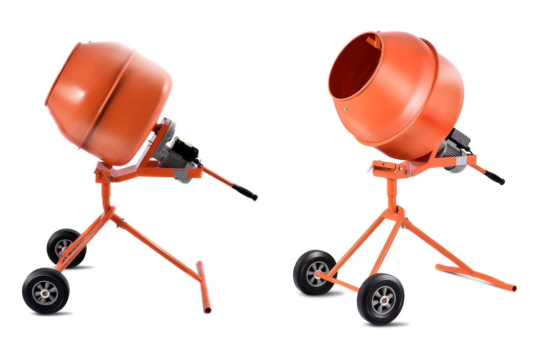 Goplus 1/2HP Electric Concrete Cement Mixer