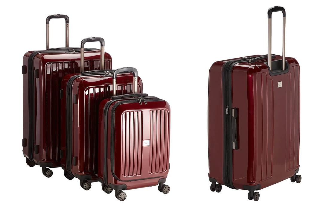 HAUPTSTADTKOFFER – X-Berg - Set of 3 Hard-side Luggages matt Suitcase Hardside Spinner Trolley Expandable