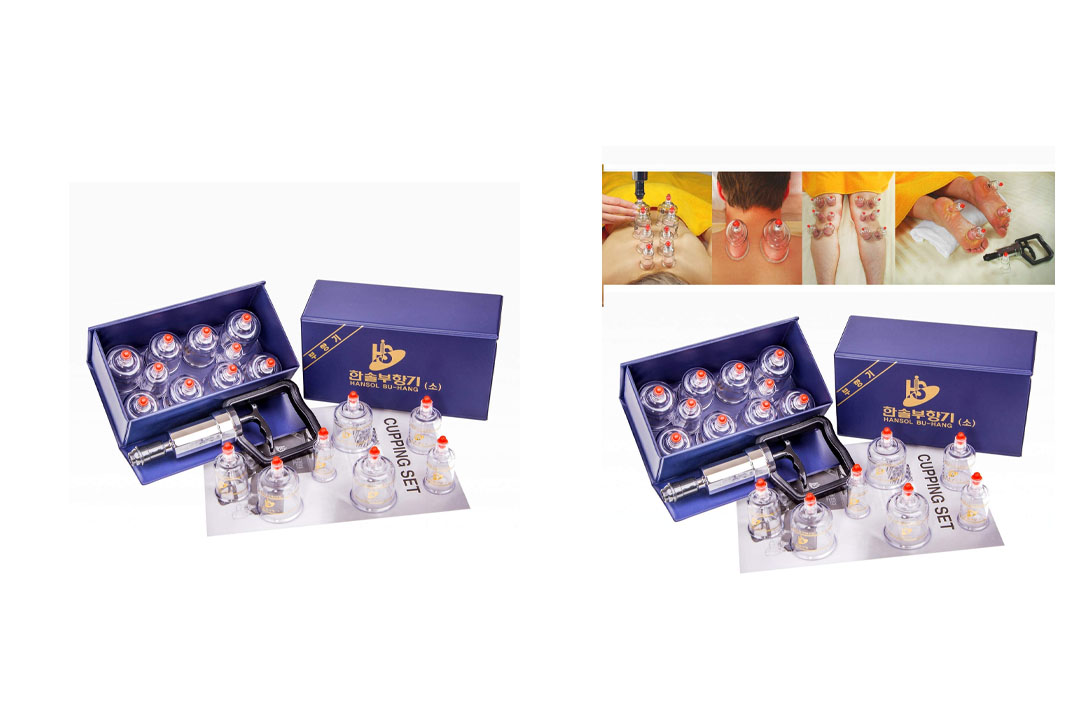 Hansol Professional Cupping Therapy Equipment Set