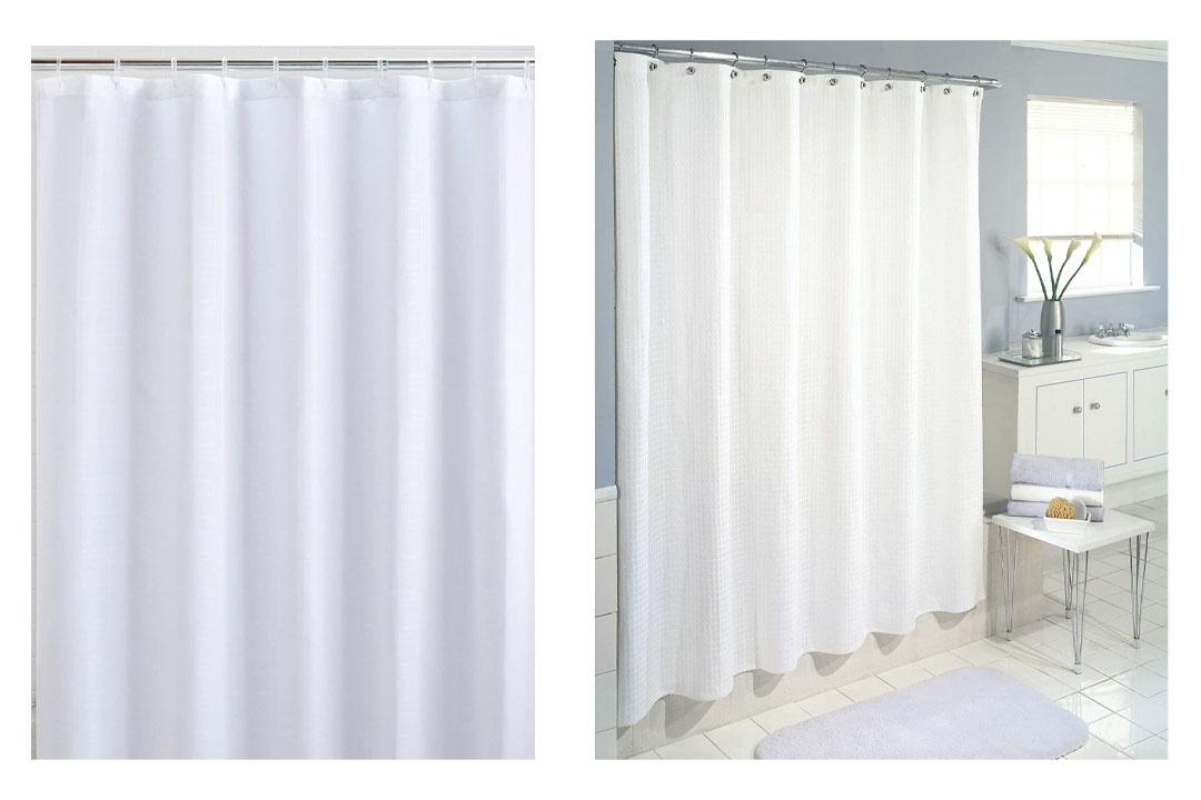 Heavy duty shower curtain