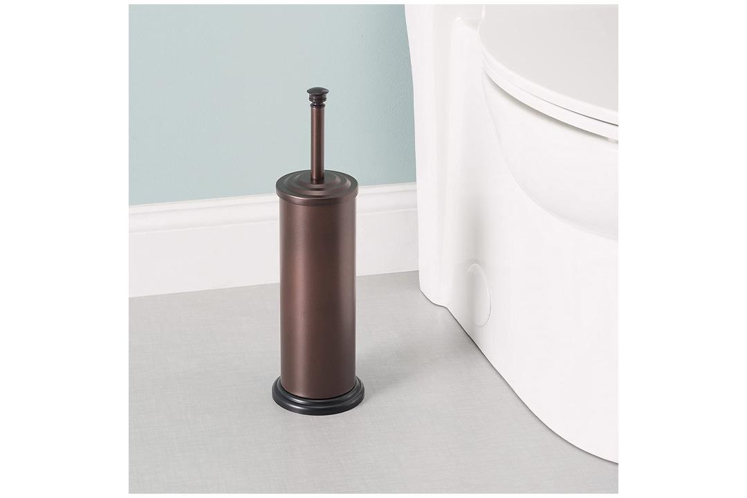 Home Basics Toilet Brush with Holder