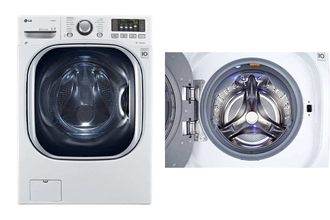 LG WM3997HWA Ventless 4.3 Cu. Ft. Capacity Steam Washer/Dryer Combination