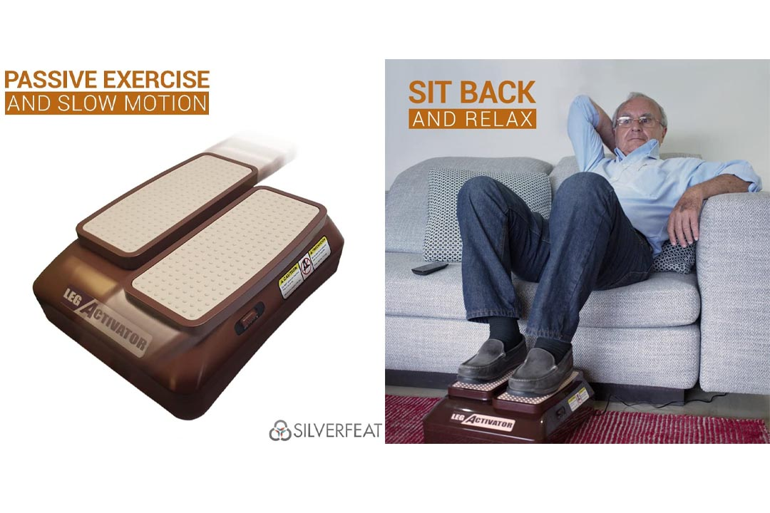 LegActivator - The Seated Leg Exerciser & Physiotherapy Machine
