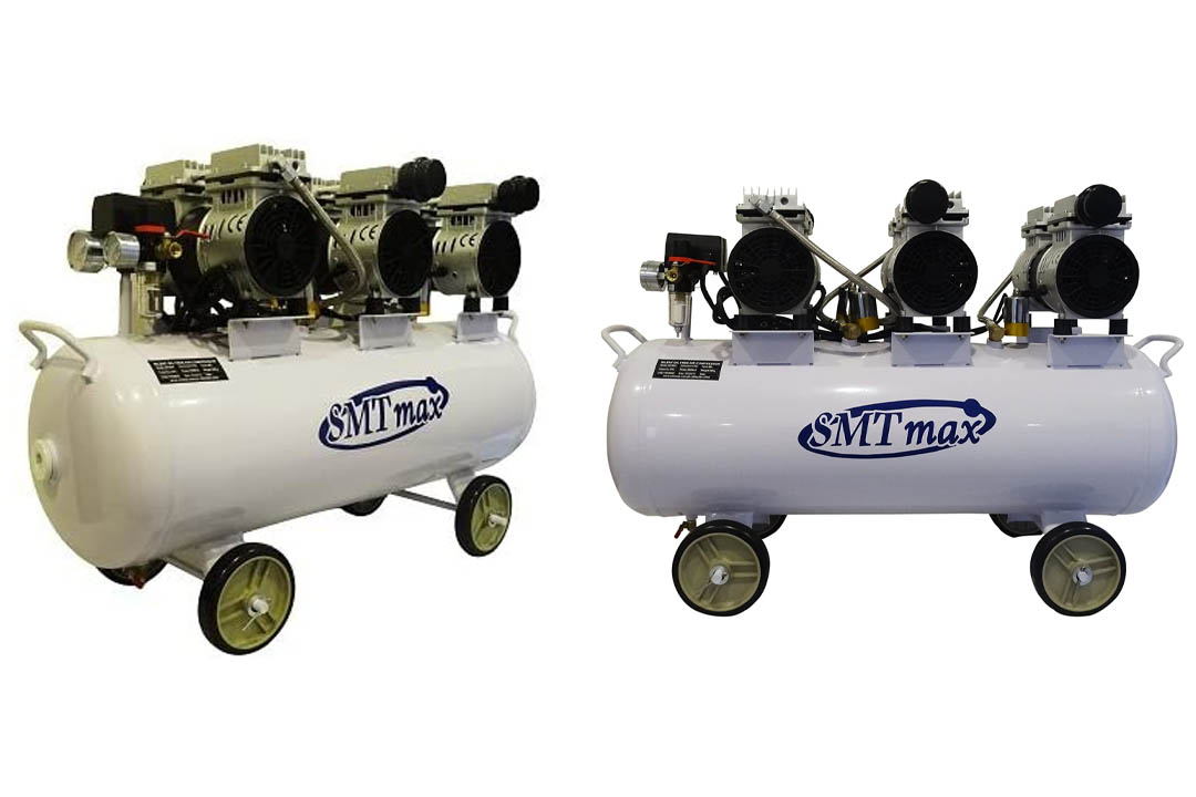 New Medical Noiseless & Oil-Less Dental Air Compressor