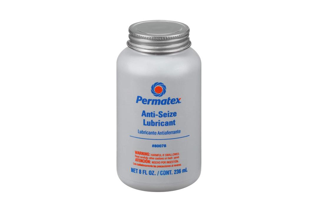 Permatex Lubricant w/ Brush Top Bottle, 8 oz
