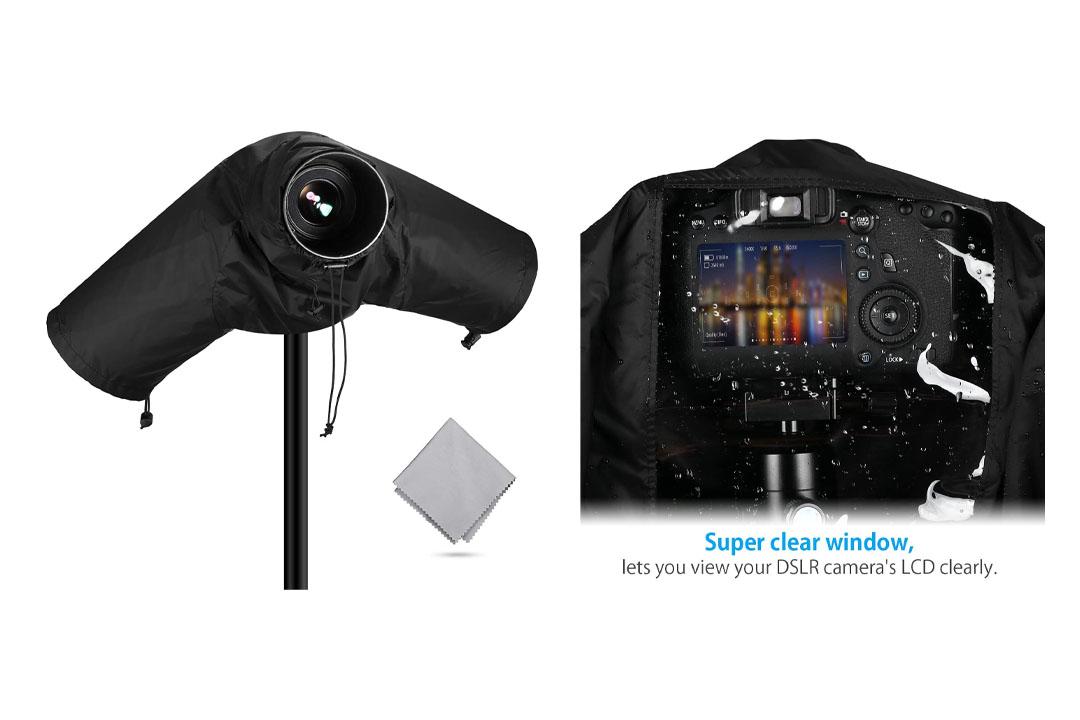 Powerextra Professional Waterproof Camera Rain Cover Protector