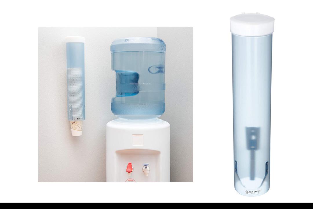 San Jamar C3165 Medium Pull Type Water Cup Dispenser
