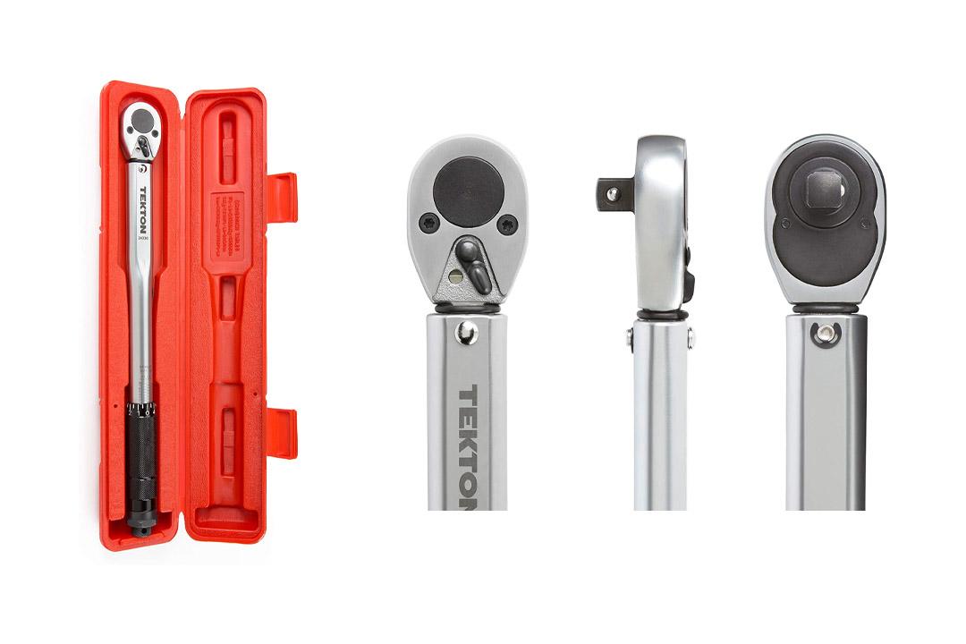 TEKTON 24330 3/8-Inch Drive Click Torque Wrench