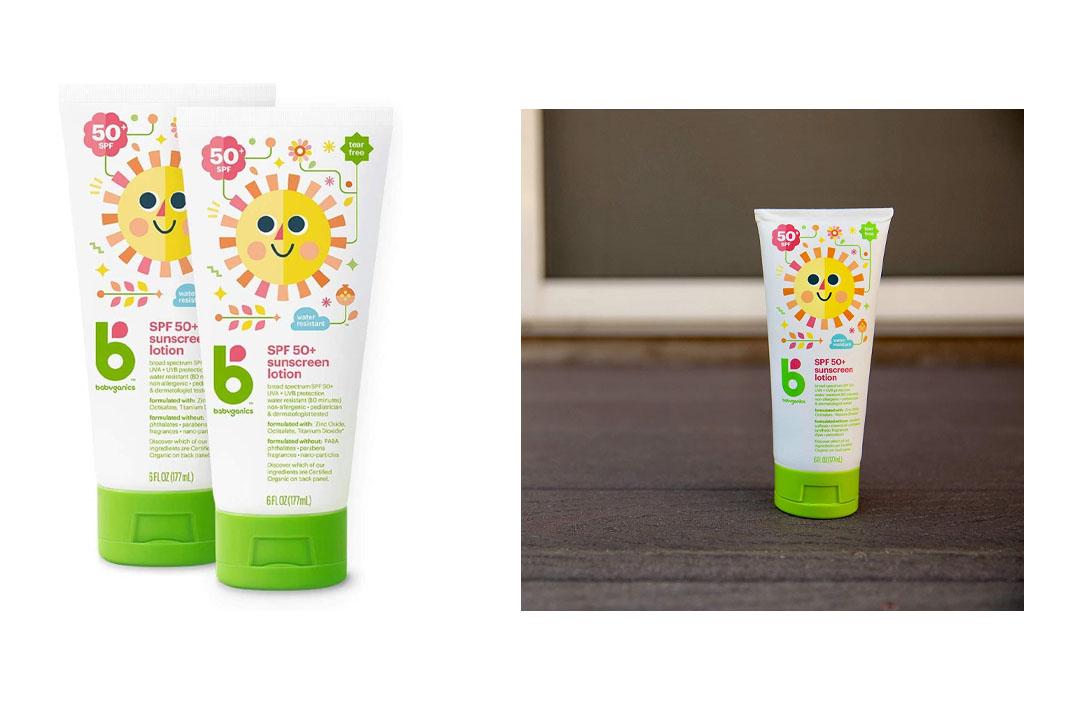 Babyganics Mineral-Based Baby Sunscreen Lotion