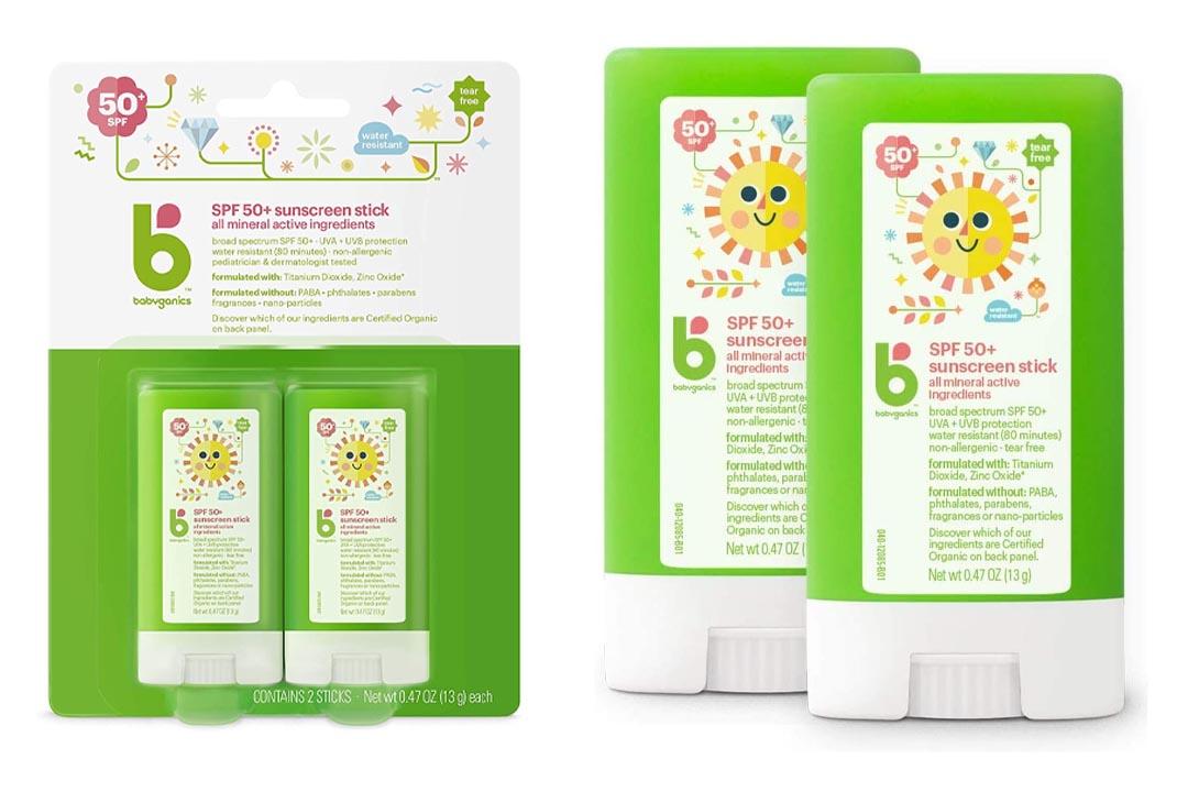 Babyganics Mineral-Based Baby Sunscreen Stick