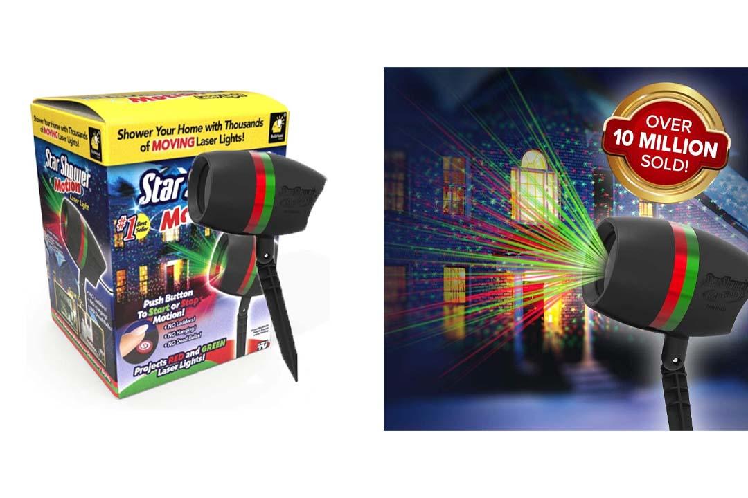 BulbHead Star Shower Motion Laser Light
