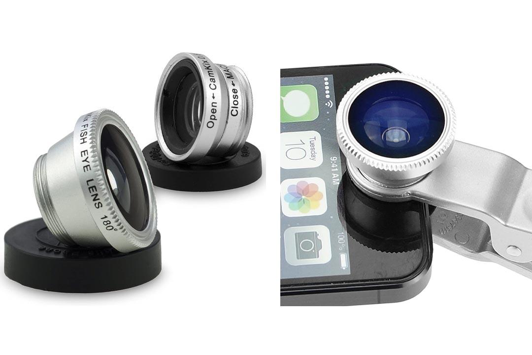 CamKix® Universal 3 in 1 Camera Lens Kit