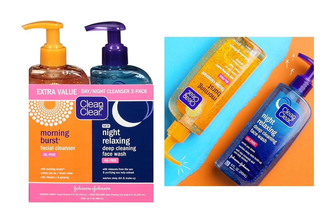 Clean & Clear Morning Burst, Day/Night Pack