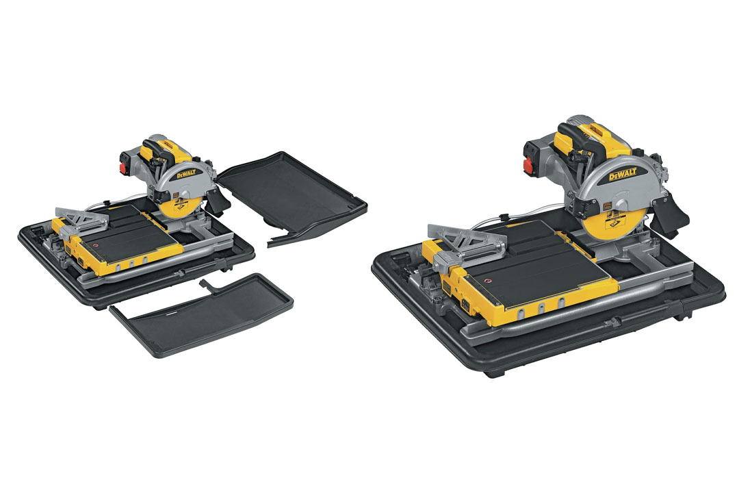 DEWALT D24000S Heavy-Duty Wet Tile Saw with Stand