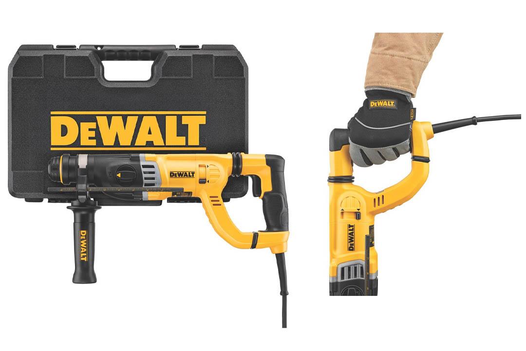 DEWALT D25263K D-Handle SDS Rotary Hammer with Shocks