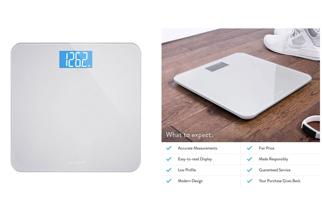 Digital Body Weight Bathroom Scale by GreaterGoods