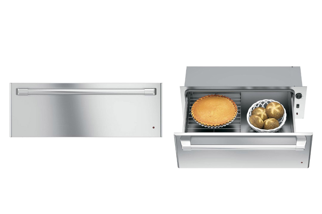 "GE CW9000SJSS Cafe 30"" Stainless Steel Electric Warming Drawer"