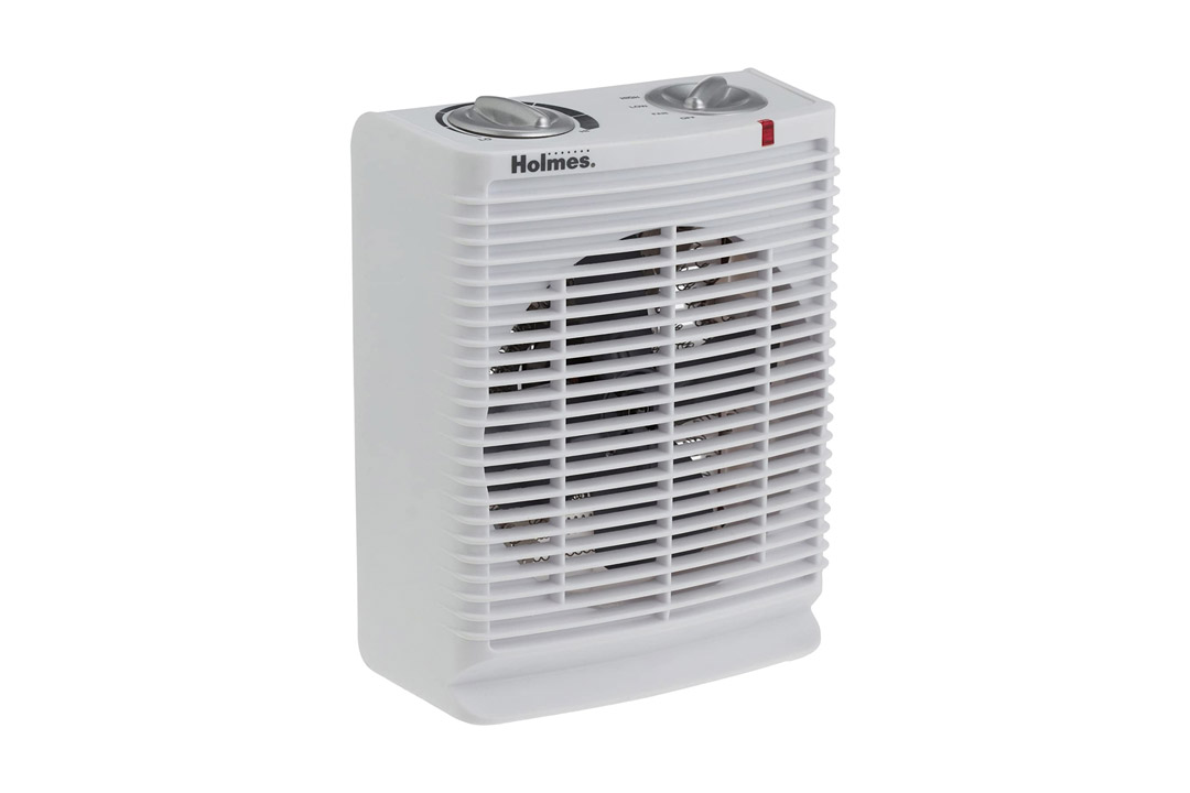 Holmes Portable Desktop Heater with Comfort Control Thermostat and Cool-Touch Housing