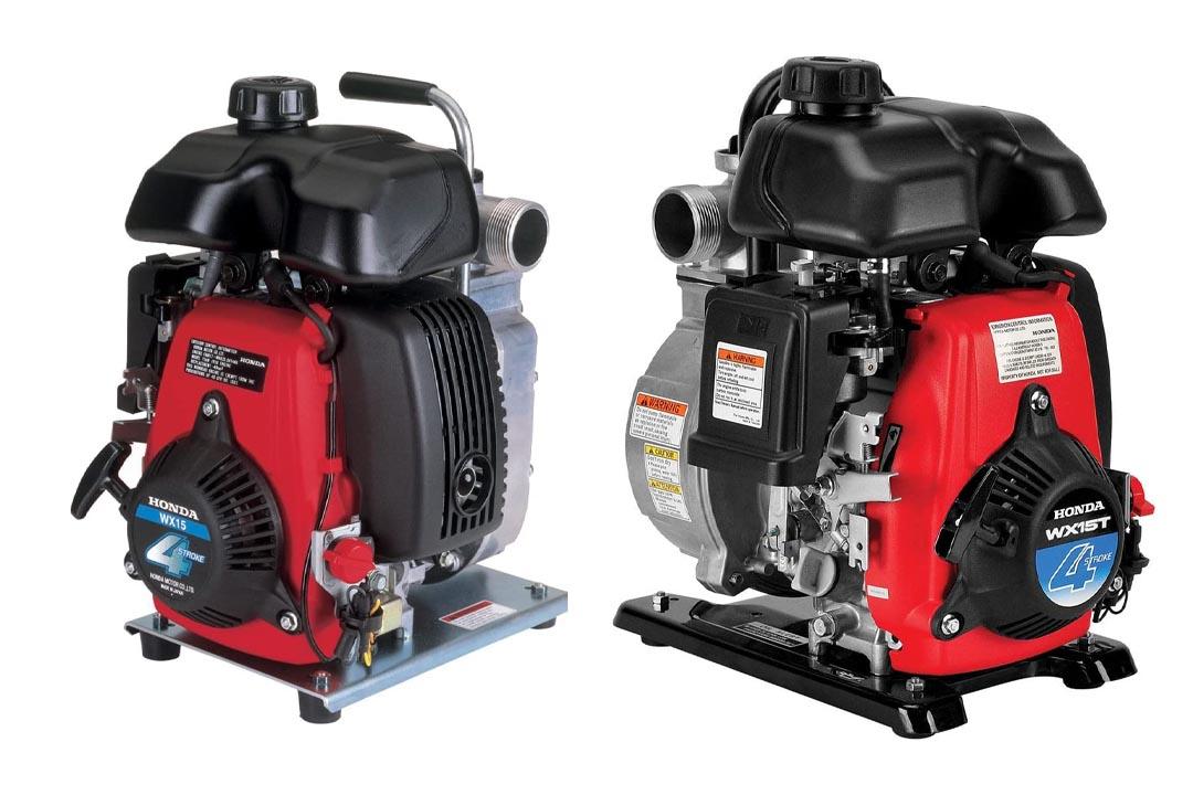 Honda WX15TA, GX Series Gas, Mini 4-Stroke Engine Water Pump