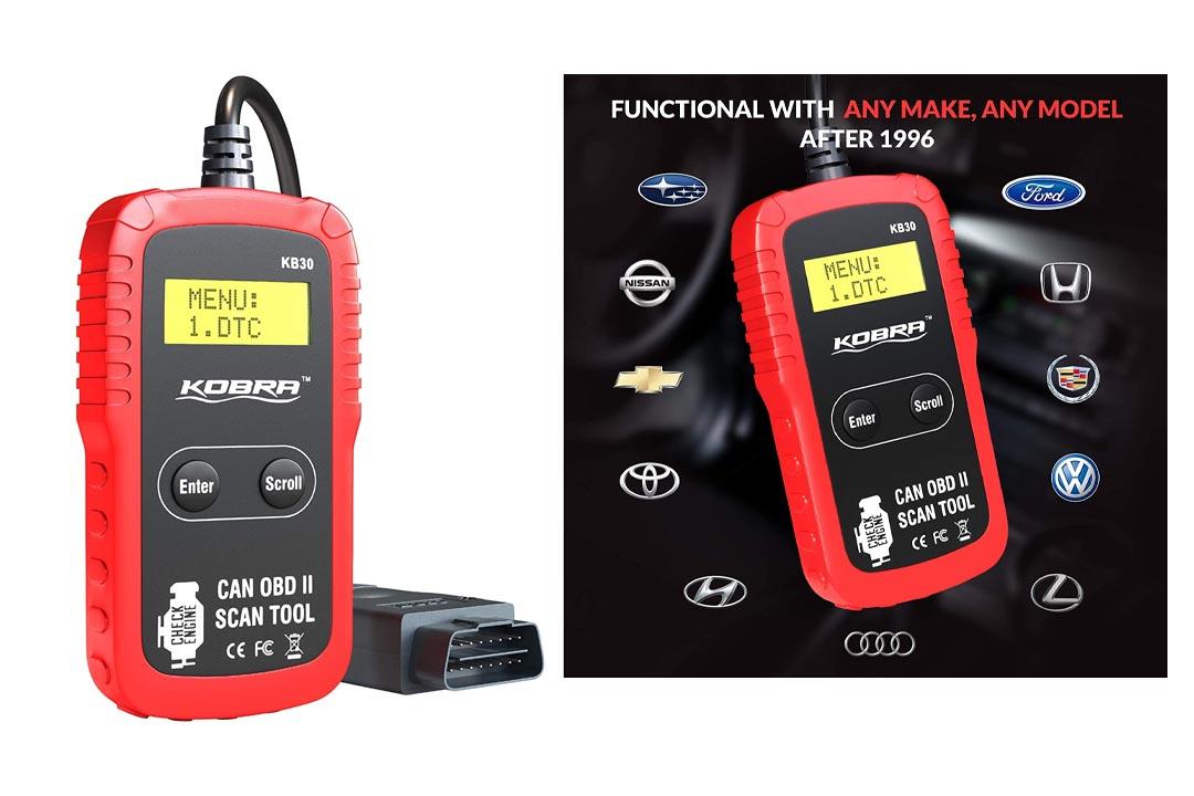 KOBRA OBD2 OBD Scanner Professional Diagnostic Car Scanner