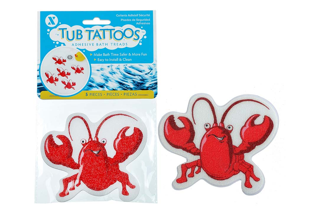 Lobster Tub Tattoo