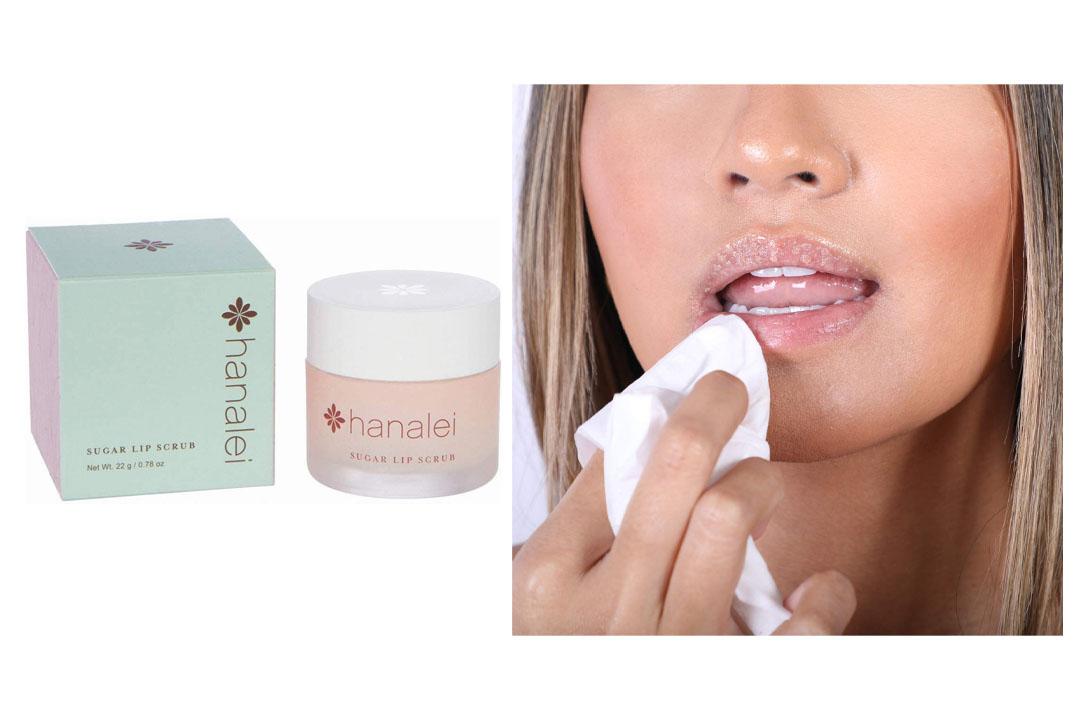 Maui Sugar Lip Scrub with Kukui Nut Oil by Hanalei Beauty Company