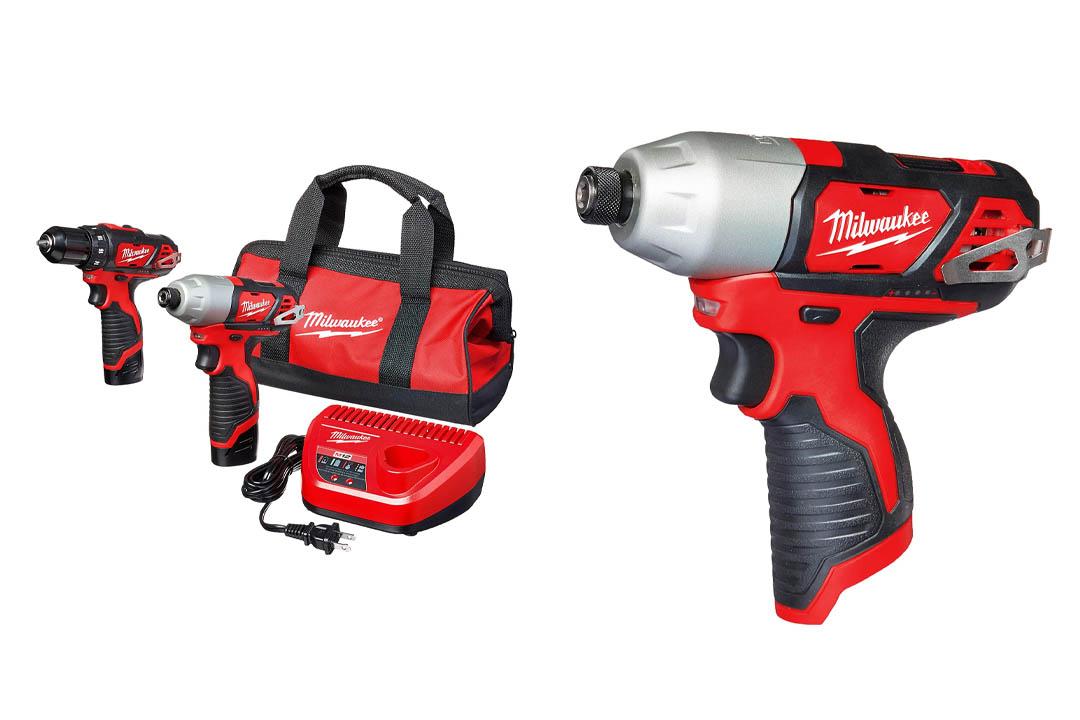 Milwaukee 2494-22 M12 Cordless Drill Kit, 2 Battery