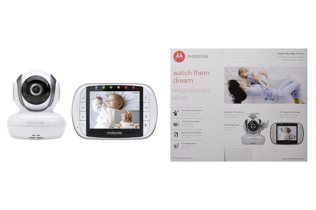 Motorola MBP36S Remote Wireless Video Baby MonitorMotorola MBP36S Remote Wireless Video Baby Monitor