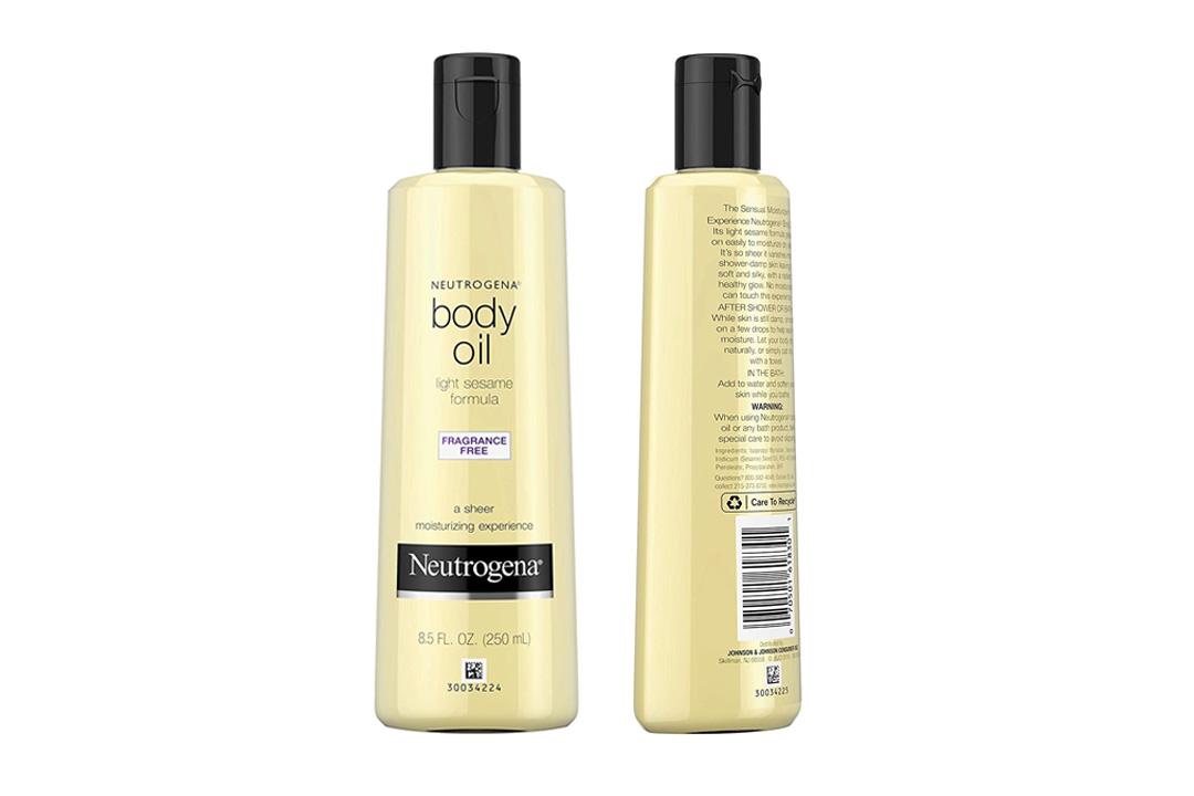 Neutrogena Body Oil, Light Sesame Oil Formula