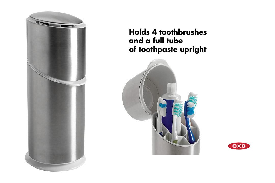 OXO Toothbrush Organizer